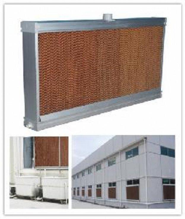 Hệ thống làm mát áp suất âm - Làm mát bằng tấm Cooling Pad