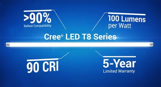 Đèn ống LED T8 Series, Đen ong LED T8 Series , Cree LED T8 Series