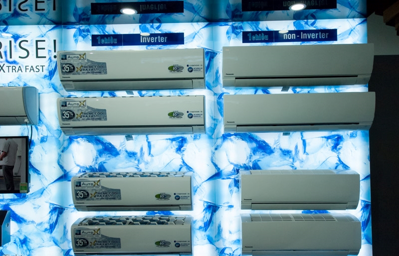 máy điều hòa không khí năm 2015 với sự kết hợp của hai công nghệ chính P-TECh và AEROWINGS