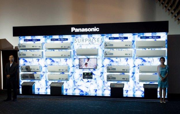 Panasonic giới thiệu dòng máy điều hòa không khi mới năm 2015