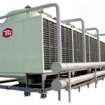 tháp giải nhiệt trong hệ thống giải nhiệt nước