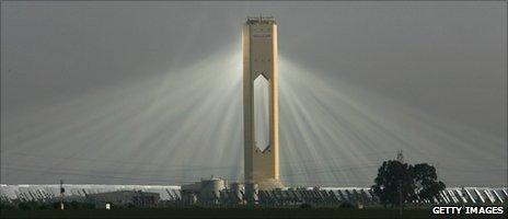 nhà máy điện hình tháp , năng lượng mặt trời , nha may dien hinh thap , nang luong mat troi