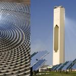 Một trong những ích lợi của nhà máy điện dạng này có thể giữ được nhiệt độ cao hơn so với nhà máy năng lượng nhiệt mặt trời hiện nay.