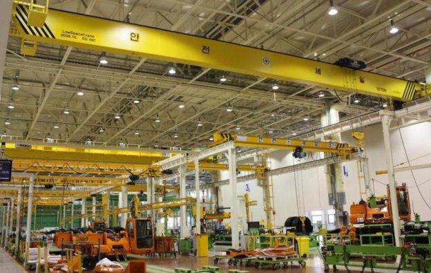 Thiết kế hệ thống chiếu sáng cho nhà xưởng