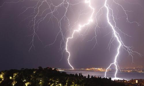 Công ty cơ điện và phương pháp làm gì để không bị sét đánh mùa mưa bão