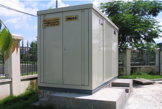 Lắp đặt trạm hợp bộ trong hệ thống cơ điện