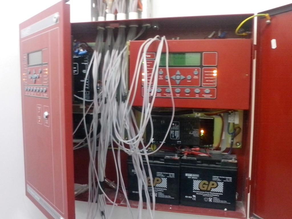 Hệ thống báo cháy quy ước trong hệ thống cơ điện