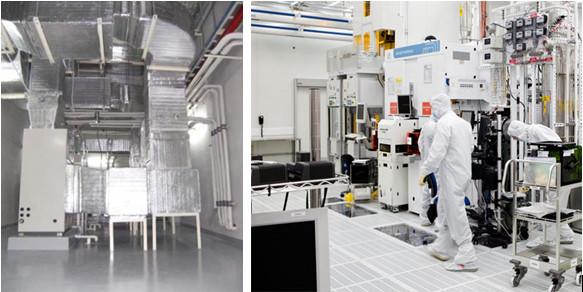 Các thiết bị trong hệ thống điện lạnh dùng ở phòng sạch gồm những gì