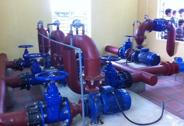 Nhà thầu cơ điện với công tác thử áp lực đường ống cấp nước
