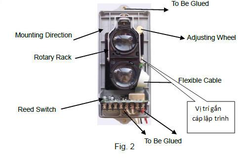 Công ty cơ điện hướng dẫn lắp đặt đầu báo khói BEAM GST I-9105R C-9105R