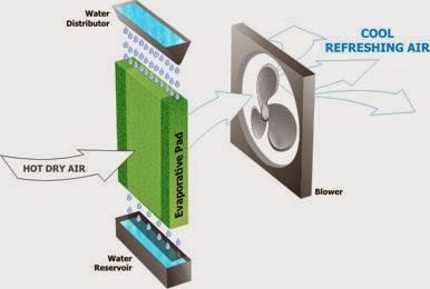 Nhà thầu cơ điện lạnh và hệ thống làm mát nhà xưởng bẳng hơi nước