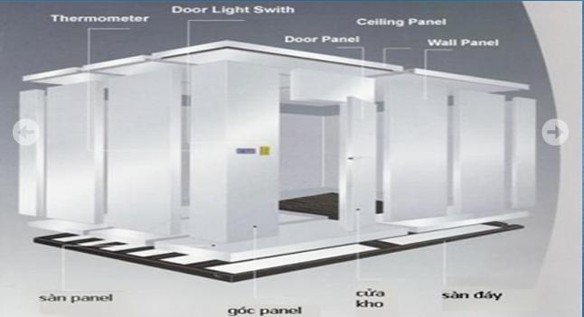 Tấm cách nhiệt và phương pháp tách ẩm trong thiết kế cơ điện ở kho lạnh
