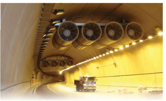Nhà thầu cơ điện và hệ thống thông gió đường hầm
