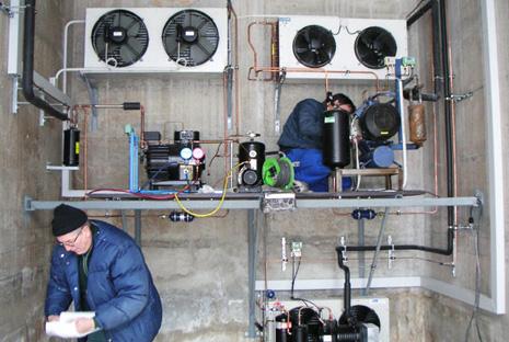 Nhà thầu m&e và cách xác định rò rỉ môi chất lạnh