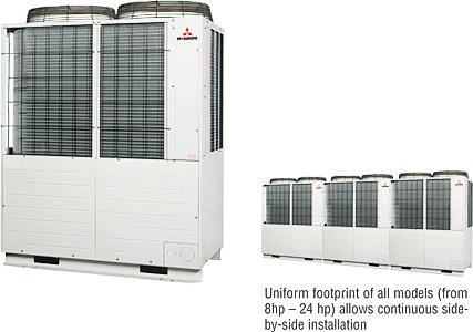 Hệ thống Máy lạnh trung tâm Mitsubishi