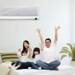 Điều hòa không khí cho gia đình bạn