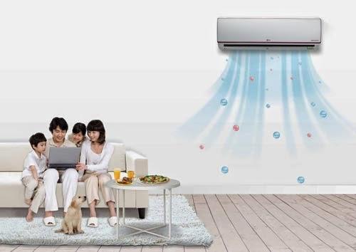 Máy lạnh hoạt động tốt hơn nhờ chế độ gió