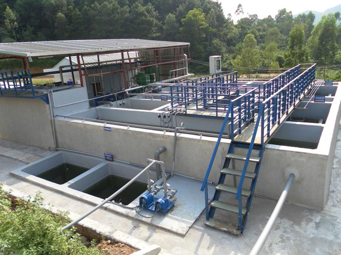 Hệ thống thoát nước và xử lý nước thải