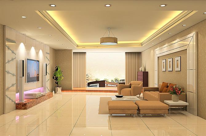 Muốn lắp đặt loại đèn này  khi thi công bạn nên để ý đến thiết kế của trần nhà