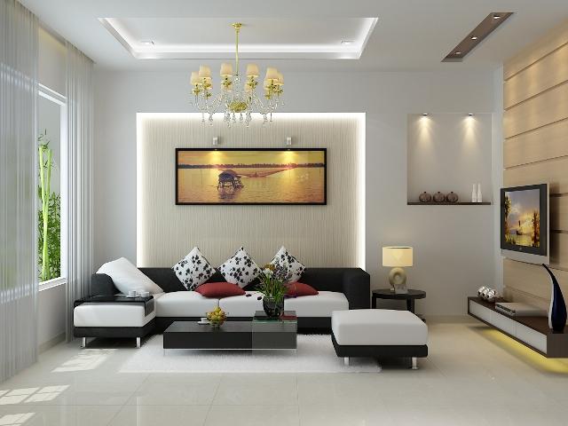 Đèn để bàn ở phòng khách thường sẽ phục vụ cho nhu cầu thẩm mỹ hơn là chiếu sáng