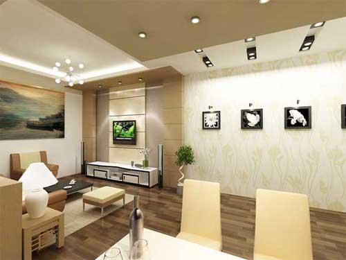 Đèn rọi thường dành cho những ngôi nhà thiết kế phong cách hiện đại