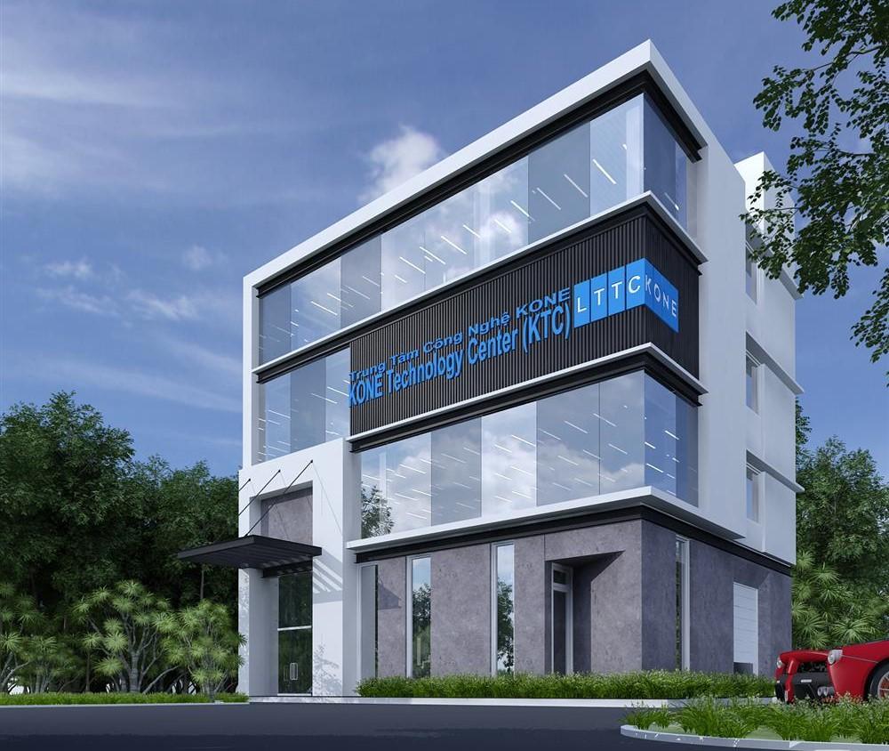 Trung tâm đào tạo thang máy Kone